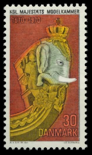 DÄNEMARK Nr 496 postfrisch 90DF3E 0