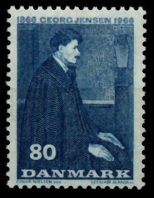 DÄNEMARK Nr 444y postfrisch 90DF46 0