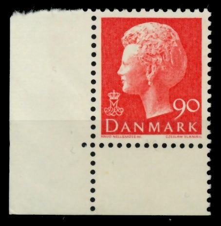 DÄNEMARK Nr 571x postfrisch ECKE-ULI 90DF96 0
