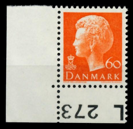 DÄNEMARK Nr 569y postfrisch ECKE-ULI 90E01A 0