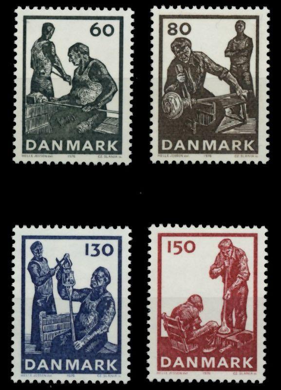 DÄNEMARK Nr 631-634 postfrisch 90E066 0