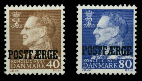 DÄNEMARK POSTFM Nr 41-42 postfrisch 90E07E 0