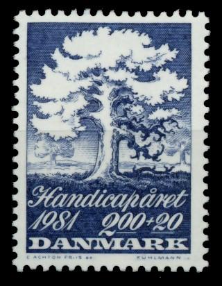 DÄNEMARK Nr 739 postfrisch S6E5F1A 0