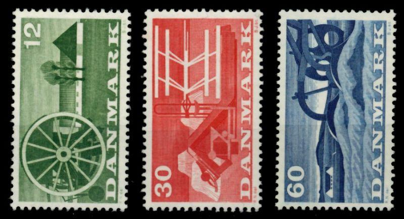 DÄNEMARK Nr 378-380 postfrisch 90E0B2 0