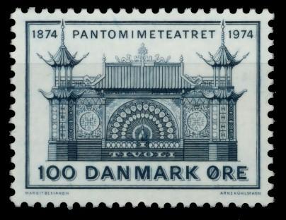 DÄNEMARK Nr 563 postfrisch 90E0B6