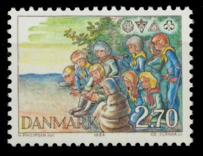 DÄNEMARK Nr 805 postfrisch 90E0EE 0