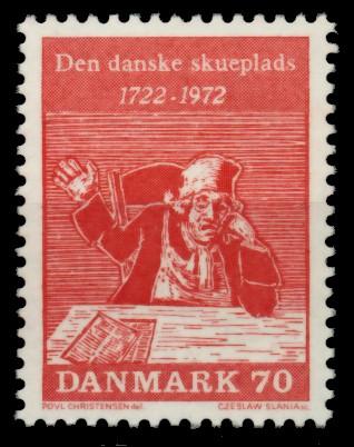 DÄNEMARK Nr 530 postfrisch 90E0FA 0