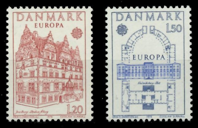 DÄNEMARK Nr 662-663 postfrisch 90E102
