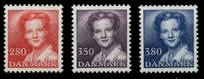 DÄNEMARK Nr 823-825 postfrisch 90E17E 0