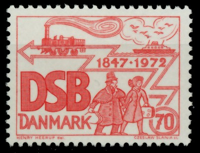 DÄNEMARK Nr 523 postfrisch 90E1BA