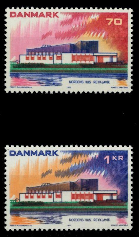 DÄNEMARK Nr 545-546 postfrisch 90E1BE 0