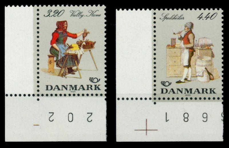 DÄNEMARK Nr 947-948 postfrisch ECKE-ULI 90E1CE 0