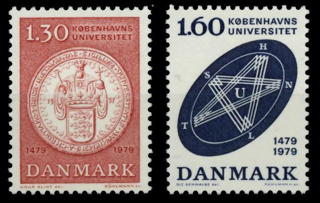DÄNEMARK Nr 677-678 postfrisch S02DA8E 0
