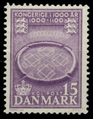 DÄNEMARK Nr 343 postfrisch 90E27E