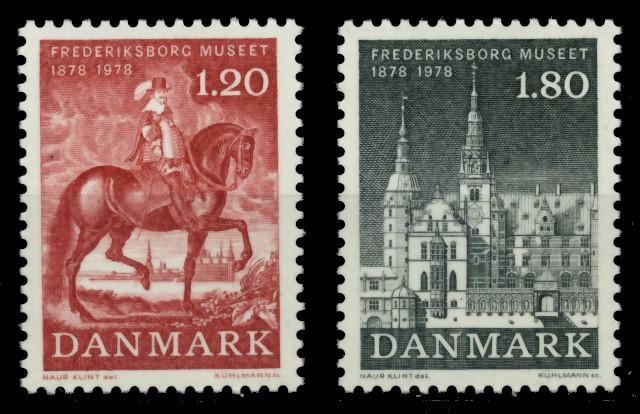 DÄNEMARK Nr 660-661 postfrisch 90E28A 0