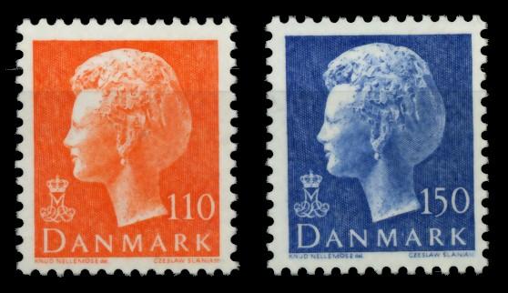DÄNEMARK Nr 657-658 postfrisch 90E296 0