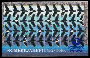 FÄRÖER MARKENHEFT Nr MH 9 postfrisch 90E2C2