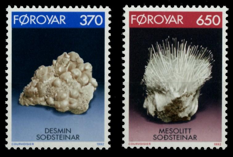 FÄRÖER Nr 237-238 postfrisch 90E2F6 0