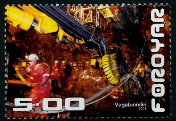 FÄRÖER Nr 446 postfrisch 90E36A 0