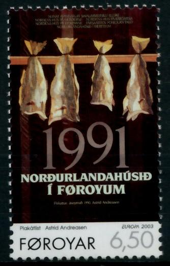 FÄRÖER Nr 448 postfrisch S6E625E 0
