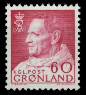 GRÖNLAND Nr 69 postfrisch S032002 0