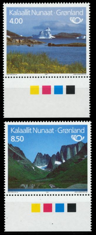 GRÖNLAND Nr 260-261 postfrisch URA 90E406