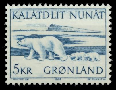 GRÖNLAND Nr 96 postfrisch S0320EA 0