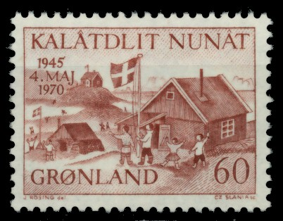 GRÖNLAND Nr 76 postfrisch 90E43A