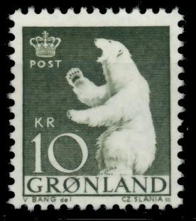 GRÖNLAND Nr 61 postfrisch 90E45E 0