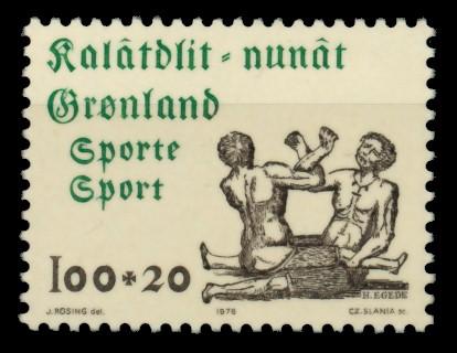 GRÖNLAND Nr 97 postfrisch S0320FE 0