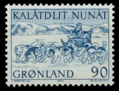 GRÖNLAND Nr 80 postfrisch 90E476