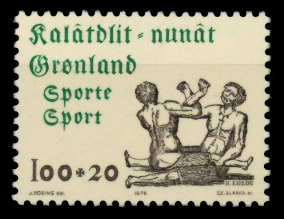 GRÖNLAND Nr 97 postfrisch S03210E