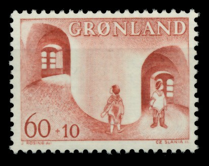 GRÖNLAND Nr 70 postfrisch S03200E