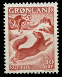 GRÖNLAND Nr 66 postfrisch 90E4CA