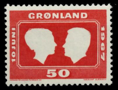 GRÖNLAND Nr 67 postfrisch S032016 0
