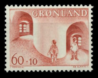GRÖNLAND Nr 70 postfrisch S03200A