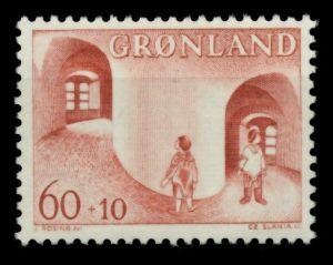 GRÖNLAND Nr 70 postfrisch S031FDE