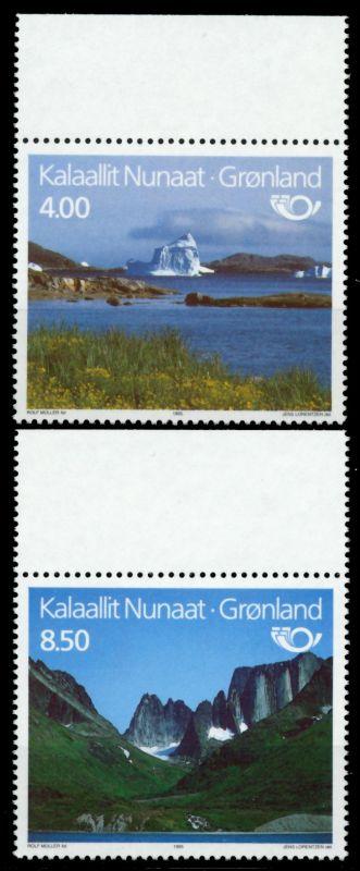 GRÖNLAND Nr 260-261 postfrisch ORA 9114DE