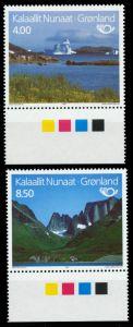 GRÖNLAND Nr 260-261 postfrisch URA 9114EA