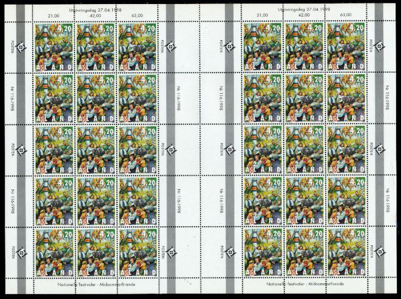 ALAND Nr 140 postfrisch BO S03333A 0