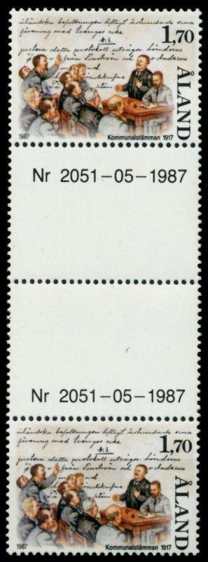 ALAND Nr 25-ZW postfrisch 4ER STR 9115B2