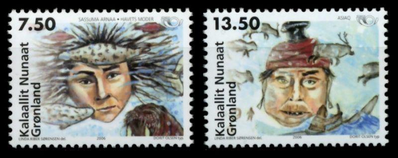 GRÖNLAND Nr 462-463 postfrisch S032296 0