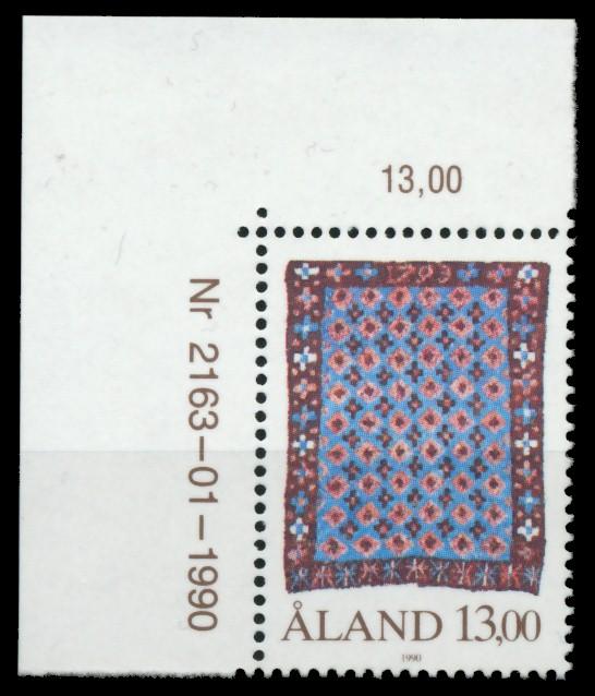 ALAND Nr 41 postfrisch ECKE-OLI 911602 0