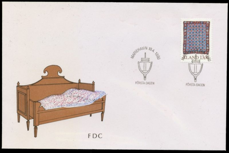 ALAND Nr 41 BRIEF FDC S0321E2