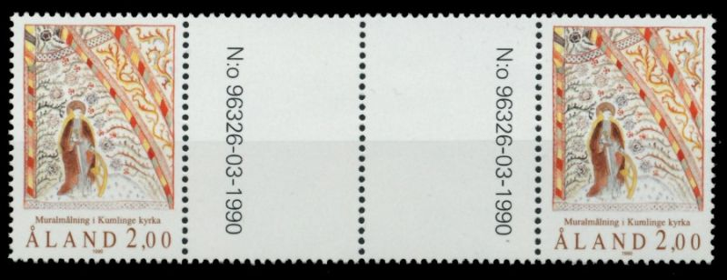ALAND Nr 42-ZW postfrisch 4ER STR 911666 0