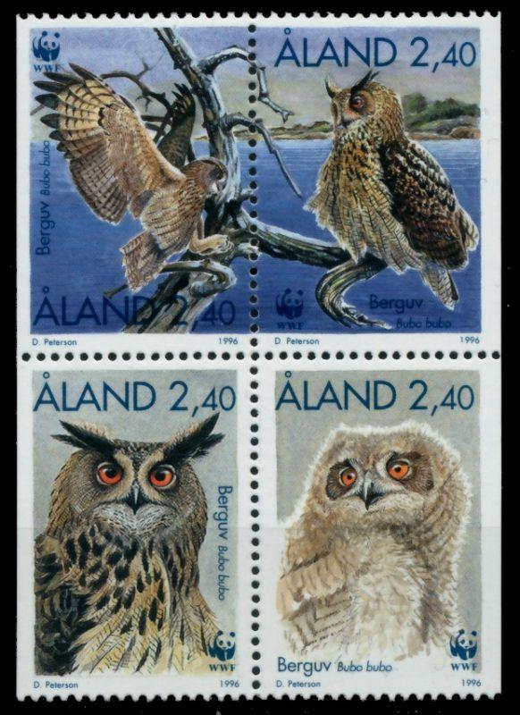 ALAND Nr 109VB-112VB postfrisch VIERERBLOCK 911692