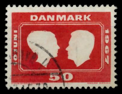DÄNEMARK Nr 67 gestempelt 90E40E