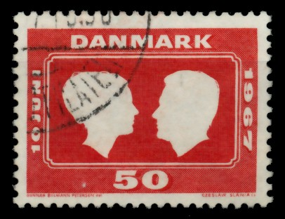 DÄNEMARK Nr 67 gestempelt 90E42A