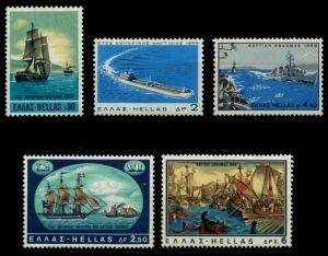 GRIECHENLAND Nr 1010-1014 postfrisch 91E742