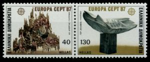 GRIECHENLAND Nr 1651A-1652A postfrisch WAAGR PAAR 91E79A
